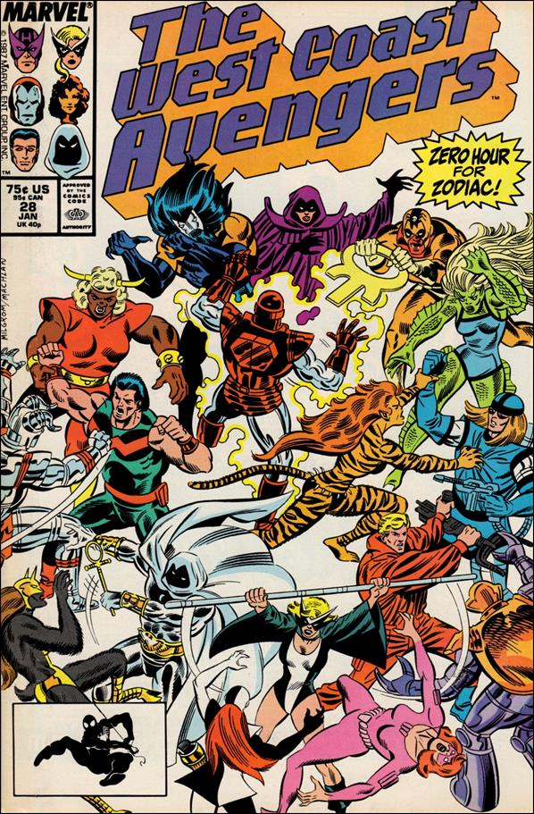 West Coast Avengers (1985) 28-A by Marvel