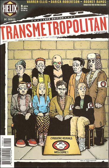 Transmetropolitan 8-A by Vertigo