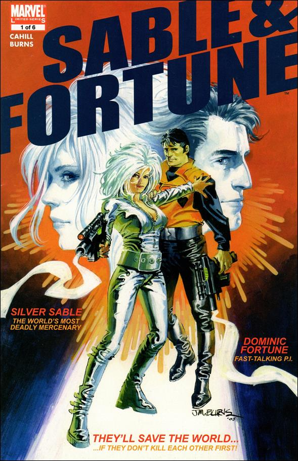Sable & Fortune 1-A by Marvel