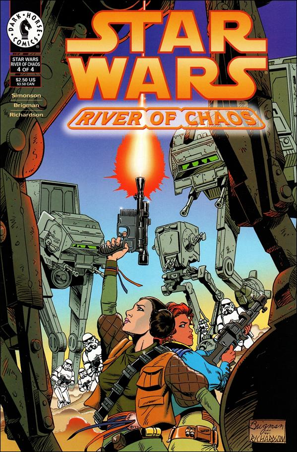 Star Wars: River of Chaos 4-A by Dark Horse