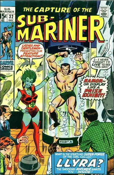 Sub-Mariner (1968) 32-A by Marvel
