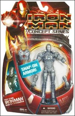 Iron Man (Movie) Tony Stark, Iron Man (Mark 02) by Hasbro