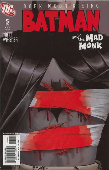 Batman and the Mad Monk 5-A by DC