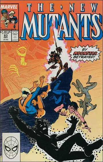 New Mutants (1983) 83-A by Marvel