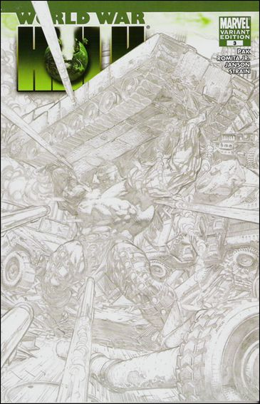 World War Hulk 3-C by Marvel