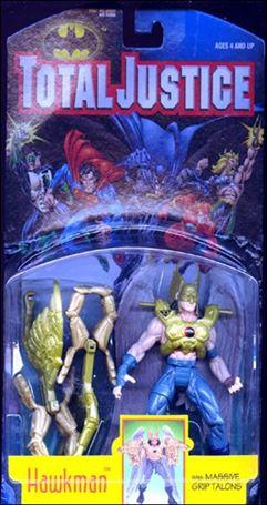 Total Justice Hawkman (Massive Grip Talons)