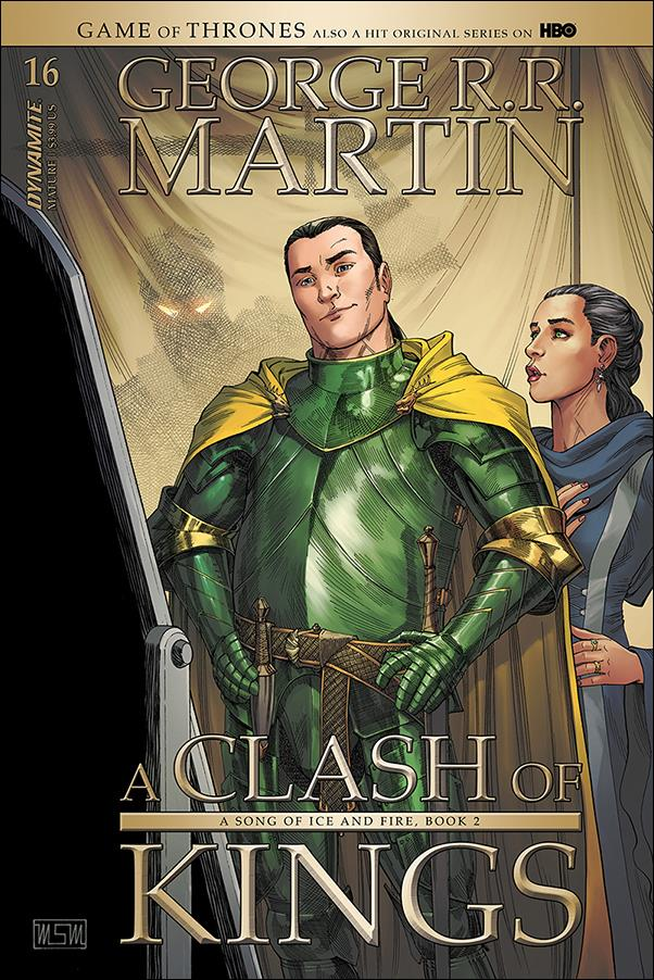 George R. R. Martin's A Clash of Kings 16-A by Dynamite Entertainment