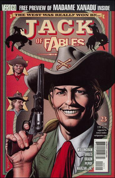 Jack of Fables 23-A by Vertigo
