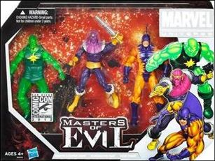 Marvel Universe (3-Packs) Masters of Evil 3-Pack