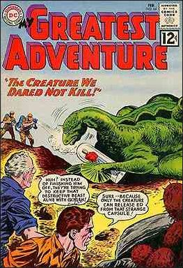 My Greatest Adventure (1955) 64-A by DC