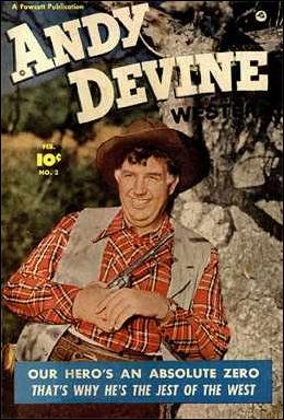 Andy Devine 2-A by Fawcett