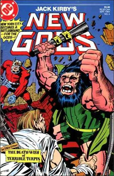 New Gods (1984) 4-A by DC