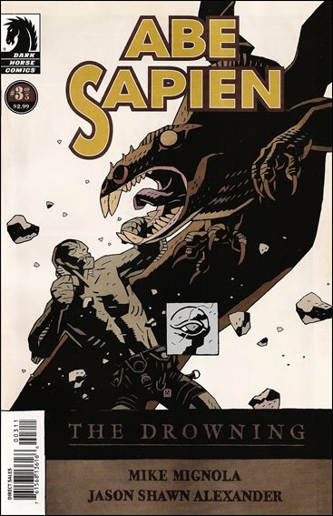 Abe Sapien: The Drowning 3-A by Dark Horse