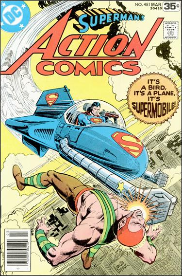 Action Comics (1938) 481-A by DC