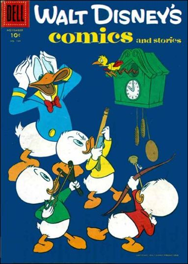 Walt Disney's Comics and Stories (1940) 194-A by Dell
