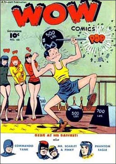 Wow Comics (1940) 60-A by Fawcett
