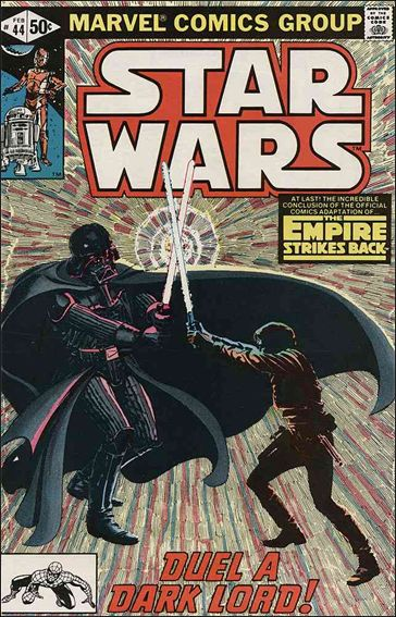 Star Wars (1977) 44-A by Marvel