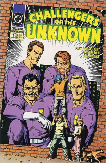 Challengers of the Unknown (1991) 1-A by DC