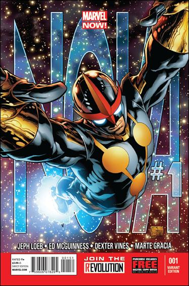 Nova (2013) 1-C by Marvel