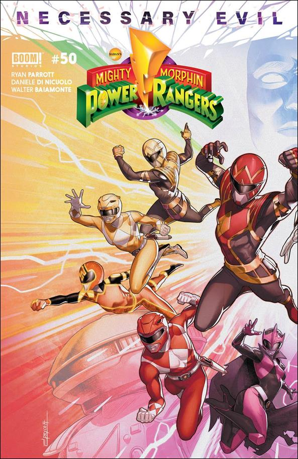 Mighty Morphin Power Rangers 50-A by Boom! Studios