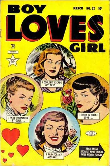 Boy Loves Girl 32-A by Lev Gleason Productions