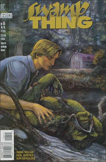 Swamp Thing (1986) 156-A by Vertigo