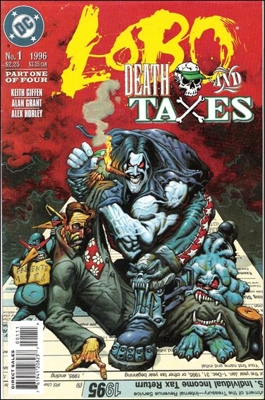 Lobo: Death and Taxes 1-A by DC
