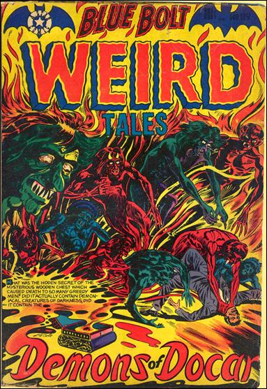 Blue Bolt Weird Tales of Terror 119-A by Star Publications