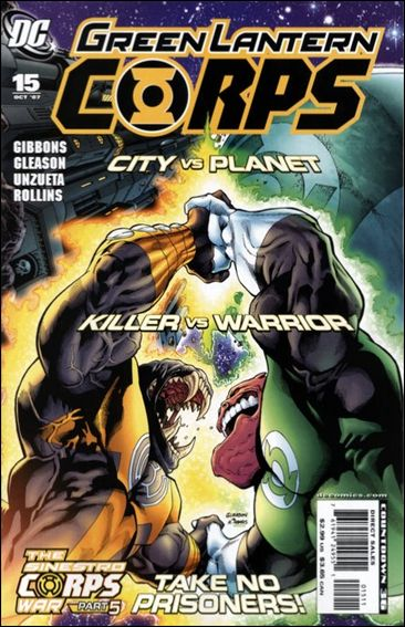 Green Lantern Corps (2006) 15-A by DC