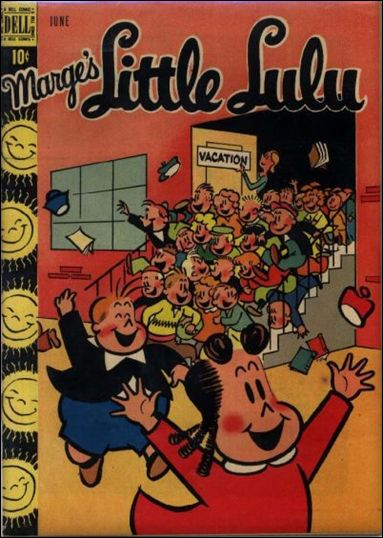 Marge's Little Lulu 12-A by Dell