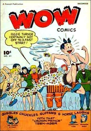 Wow Comics (1940) 61-A by Fawcett
