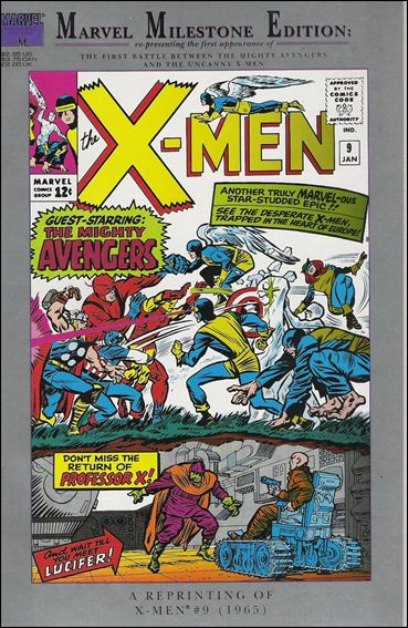 Marvel Milestone Edition: X-Men 9-A by Marvel