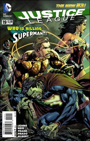 Justice League (2011) 19-A by DC