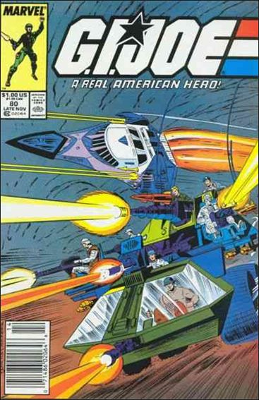 G.I. Joe: A Real American Hero 80-A by IDW