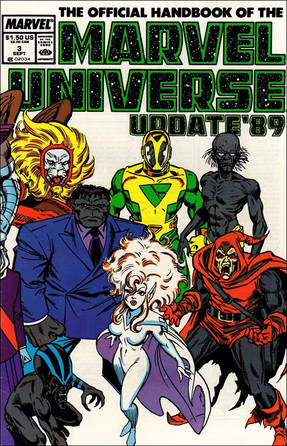 Official Handbook of the Marvel Universe (1989) 3-A by Marvel