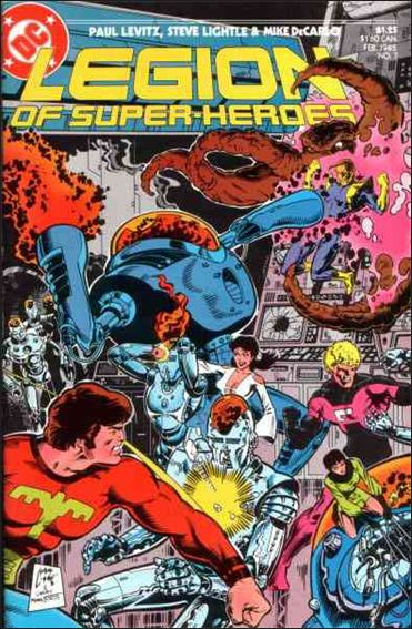 Legion of Super-Heroes (1984) 7-A by DC