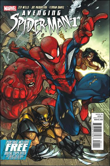 Avenging Spider-Man 1-B by Marvel