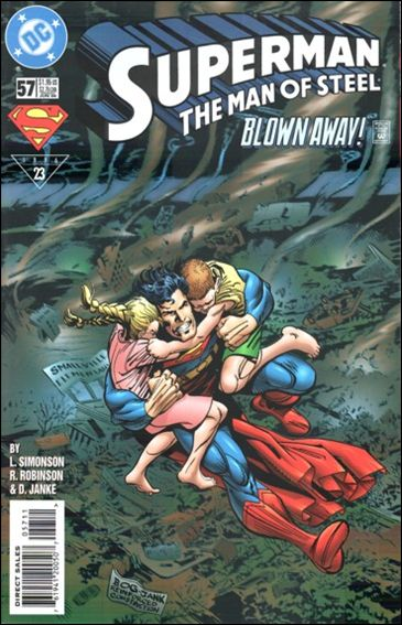 Superman: The Man of Steel 57-A by DC