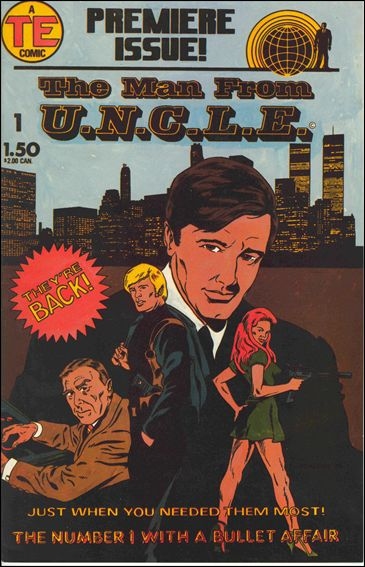 Man from U.N.C.L.E.(1987) 1-A by Entertainment Publishing