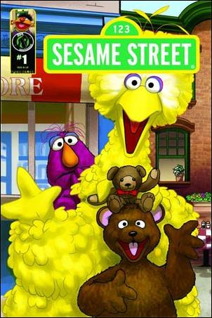 Sesame Street 1-A by Kizoic