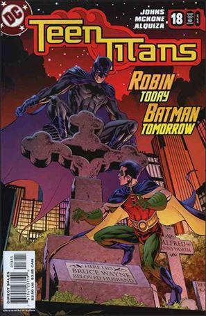 Teen Titans (2003) 18-A