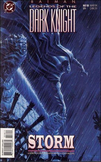 Batman: Legends of the Dark Knight 58-A by DC