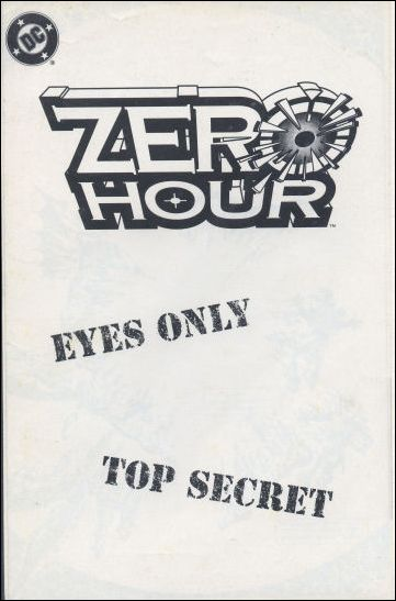 Zero Hour Ashcan 1-A by DC