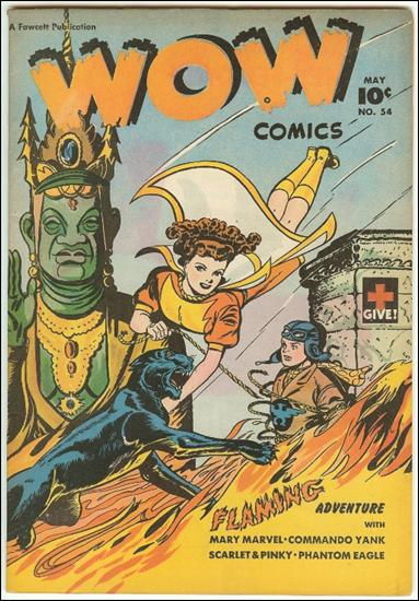 Wow Comics (1940) 54-A by Fawcett