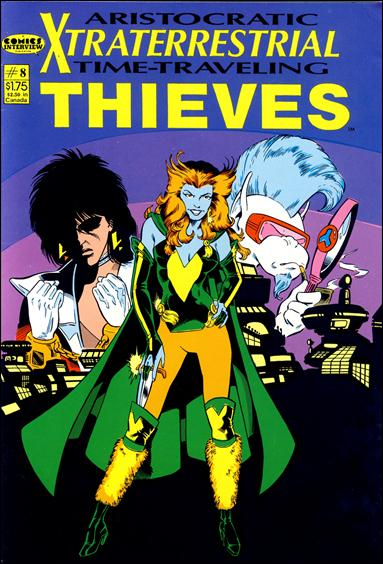 Aristocratic Xtraterrestrial Time-Traveling Thieves (1987) 8-A by Comics Interview