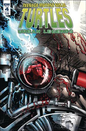 Teenage Mutant Ninja Turtles: Urban Legends 4-A
