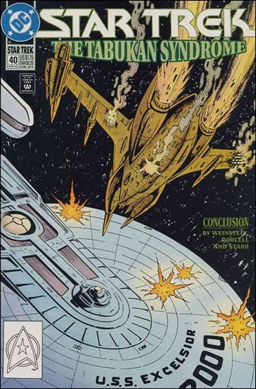 Star Trek (1989) 40-A by DC