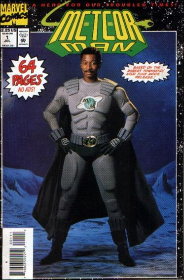 Meteor Man: The Movie 1-A by Marvel