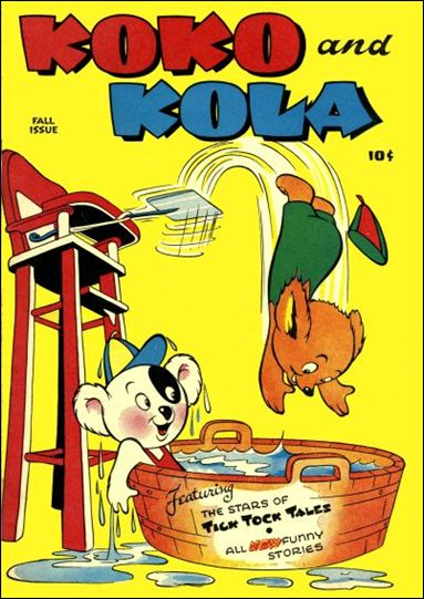 Koko and Kola 1-A by Magazine Enterprises