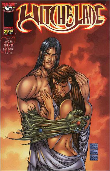 Witchblade 20-A by Top Cow